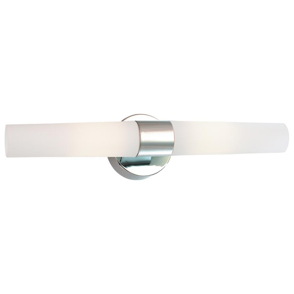 kovacs bathroom lighting george kovacs saber 2 light chrome bath light p5042 077 pl 13392