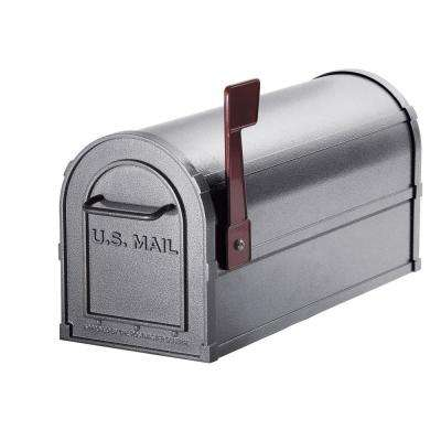 4800 Series Post-Mount Deluxe Rural Mailbox