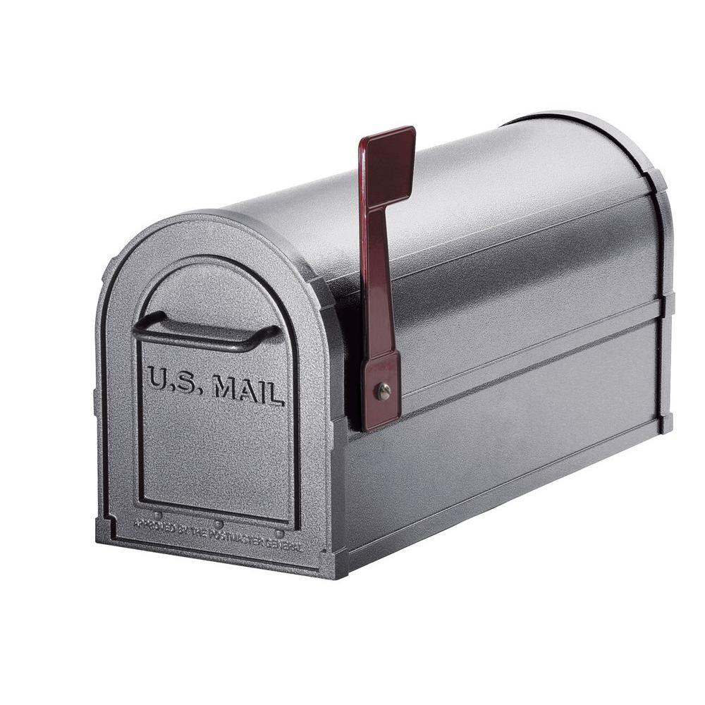 4800 Series Post-Mount Deluxe Rural Mailbox