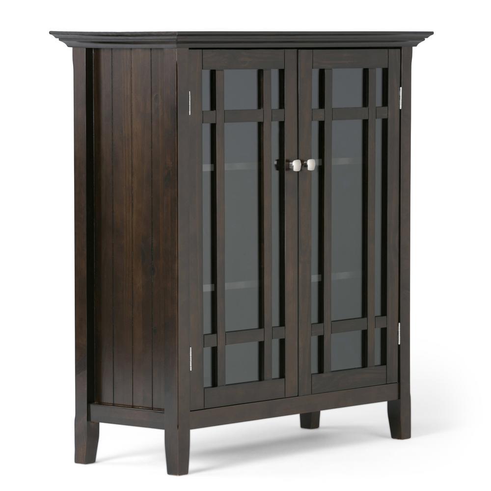 Bedford Dark Tobacco Brown Storage Cabinet