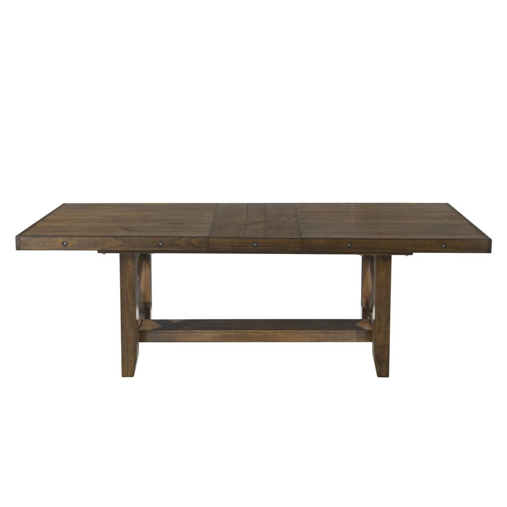 Francis chestnut dining table dfk100dt the home depot