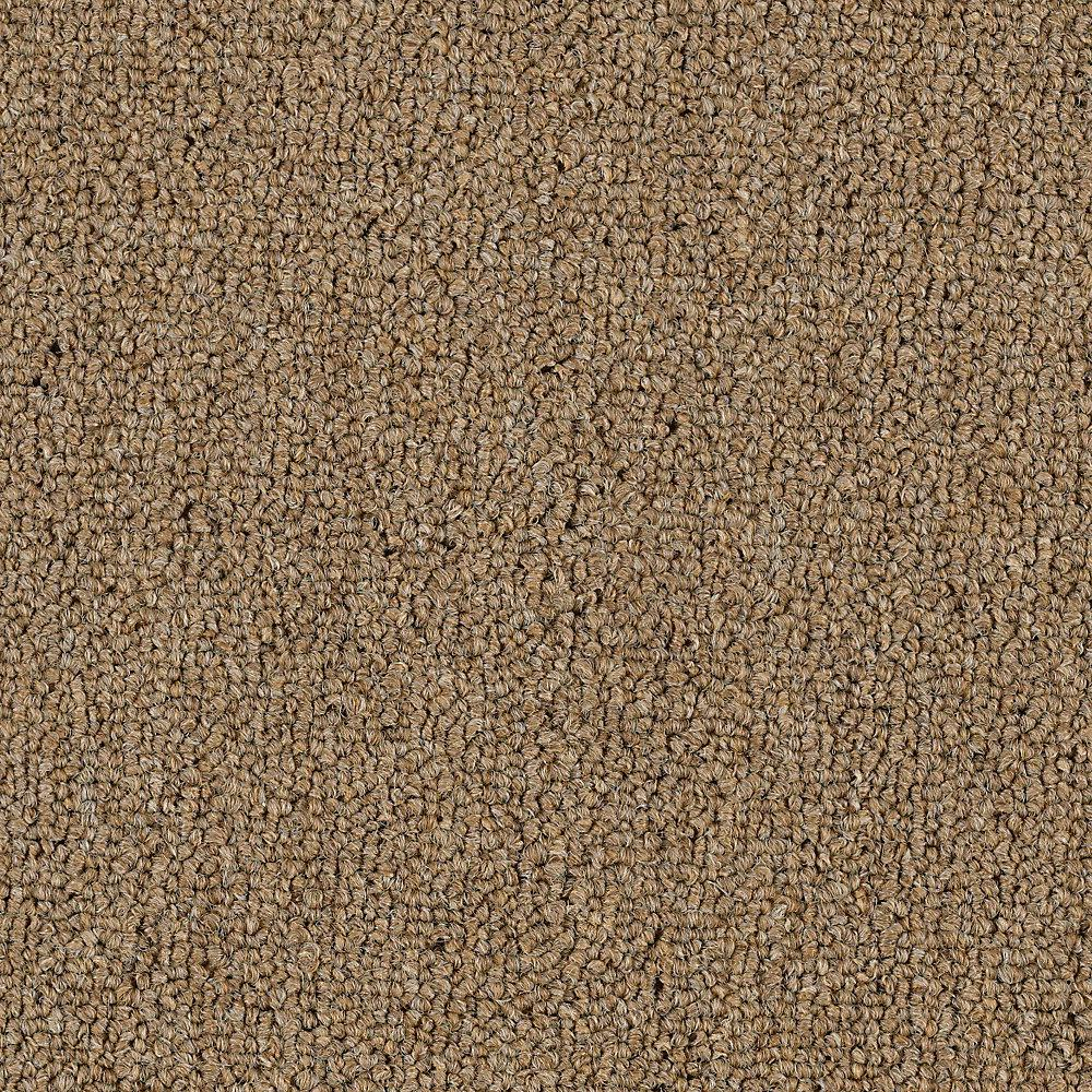 TrafficMASTER Top Rail 26 - Color Burlap Loop 12 ft. Carpet