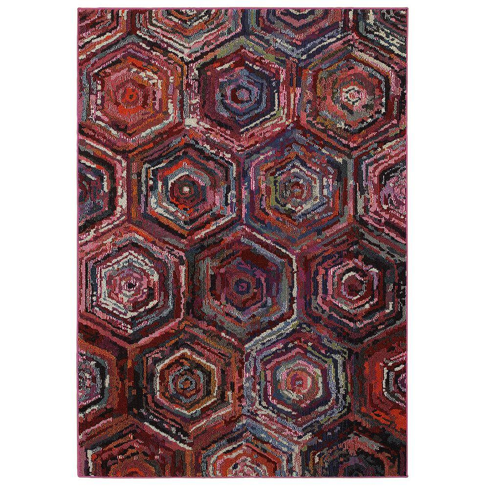 Orian Rugs Human Resources: Orian Rugs Eastern Tradition Multi Southwestern 6 Ft. 7 In