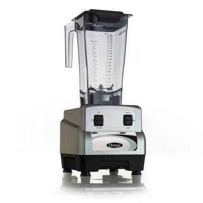 3 HP 64 oz. High/Low 2-Speed Silver Blender with BPA free Container