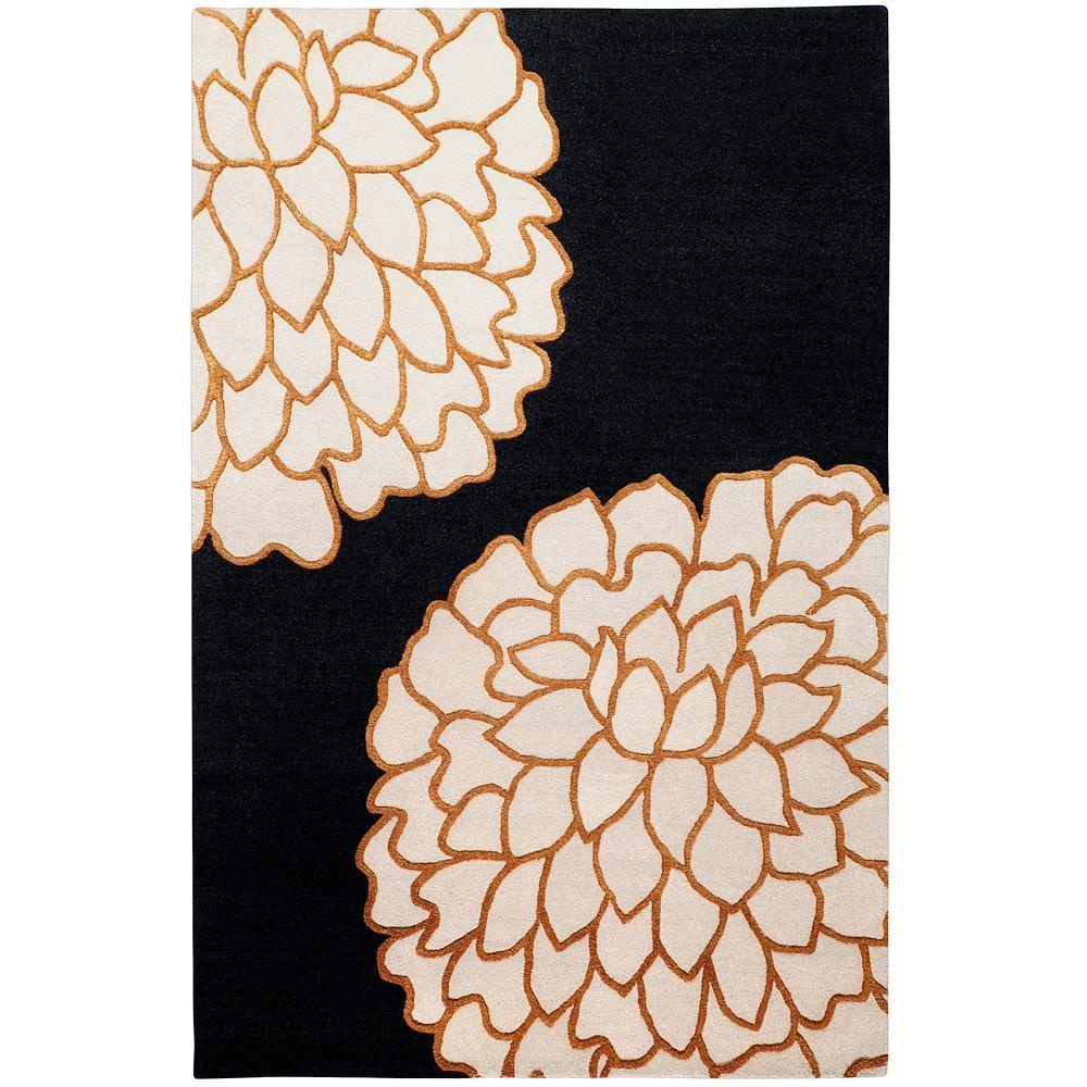 Artistic Weavers Crofton Black 9 ft. x 13 ft. Area Rug