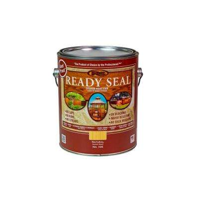 1 Gal. Light Oak Exterior Wood Stain and Sealer