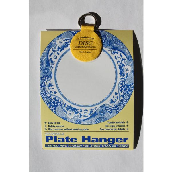 1.25 in. Invisible Disc Plate Hangers (10-Pack)