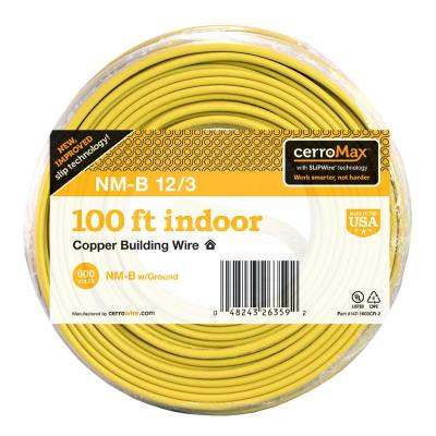 100 ft. 12/3 NM-B Wire