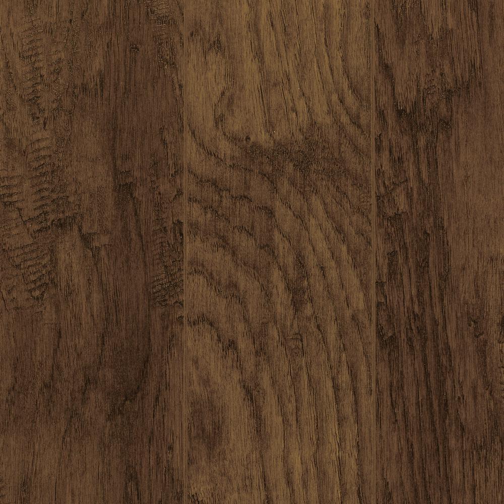 trafficmaster alameda hickory laminate flooring   5 in x