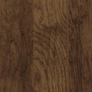 Home Decorators Collection Take Home Sample Hand Scraped Tanned Hickory Laminate Flooring 5