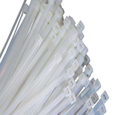 11 in. Natural Wire Tie, 50 lb. Tensile (100-Pack)