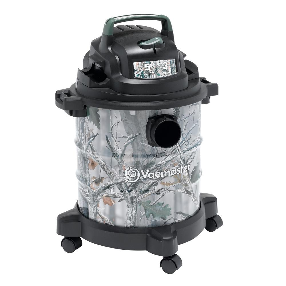 Vacmaster 5 Gal  Camo Metal Tank Wet/Dry Vacuum
