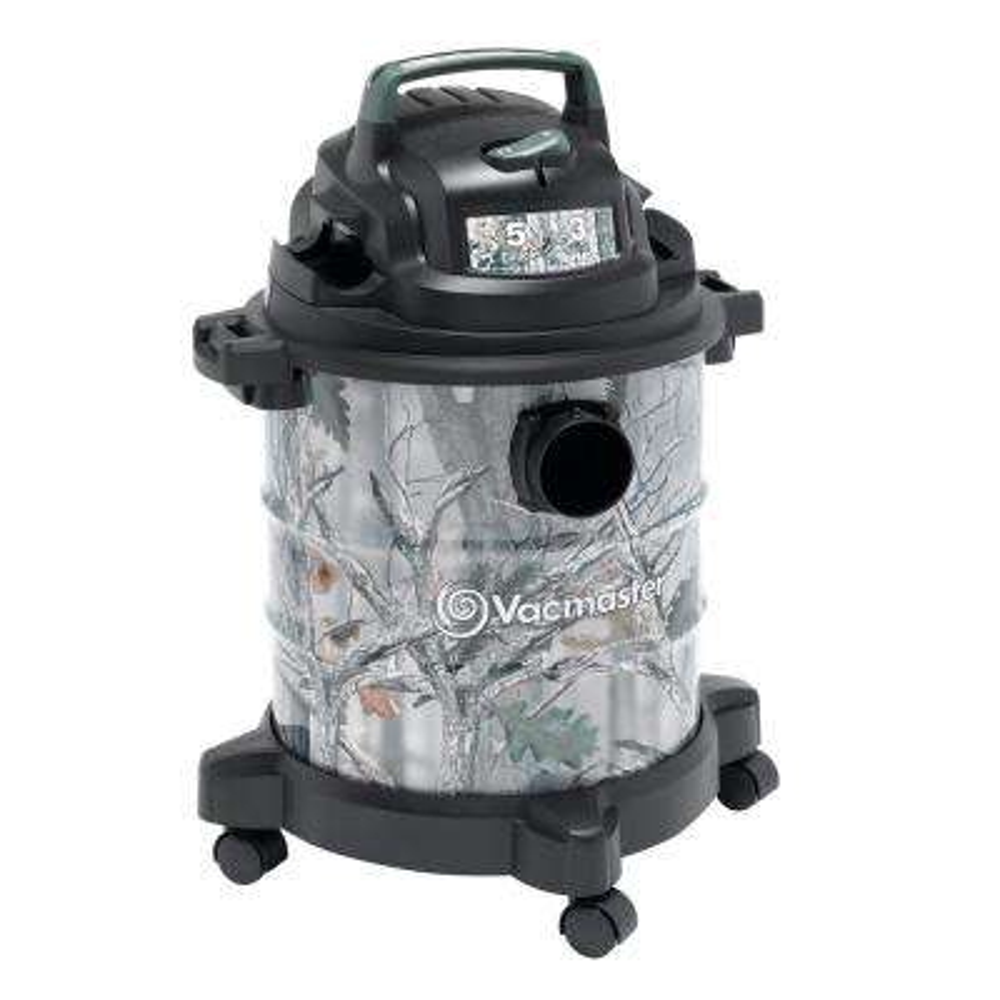 5 Gal. Camo Metal Tank Wet/Dry Vacuum