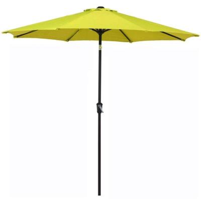 9 ft. Market Patio Umbrella with Tilt in Lime Green