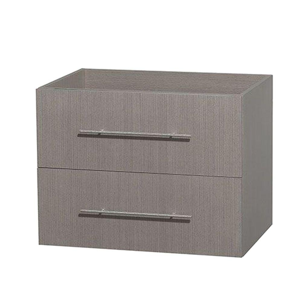 Centra 29 in. Vanity Cabinet Only in Gray Oak