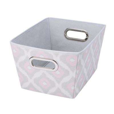 Medium Grommet Storage Tote in Ikat