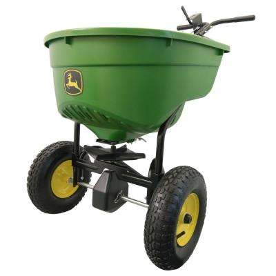 130 lbs. Capacity Push Broadcast Spreader