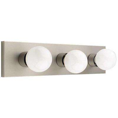 Aldrich 3-Light Satin Nickel Bath Vanity Light