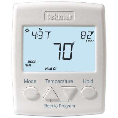 7-Day 2-Stage 2 Heat or Heat-Cool Programmable Thermostat with Sensor 079