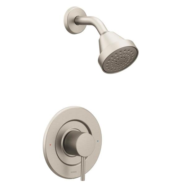 Align Single-Handle Posi-Temp Shower Faucet Trim Kit in Brushed Nickel (Valve Not Included)