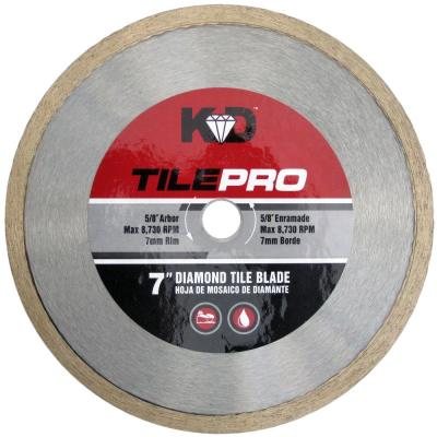 7 in. Diamond Tile Circular Saw Blade