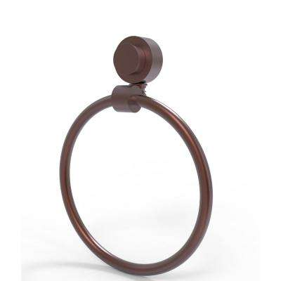 Venus Collection Towel Ring in Antique Copper