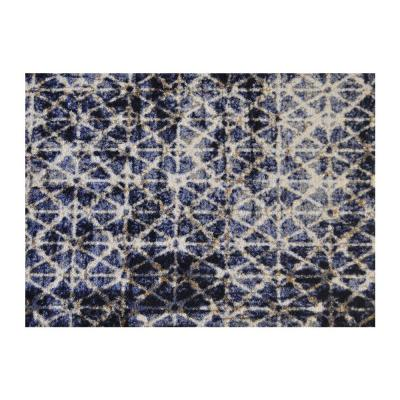 In-Home Washable/Non-Slip Burnt 2 ft. 3 in. x 1 ft. 5 in. Area Rug & Mat
