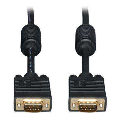 10 ft. SVGA Monitor Gold Cable with RGB Coax HD15M/M