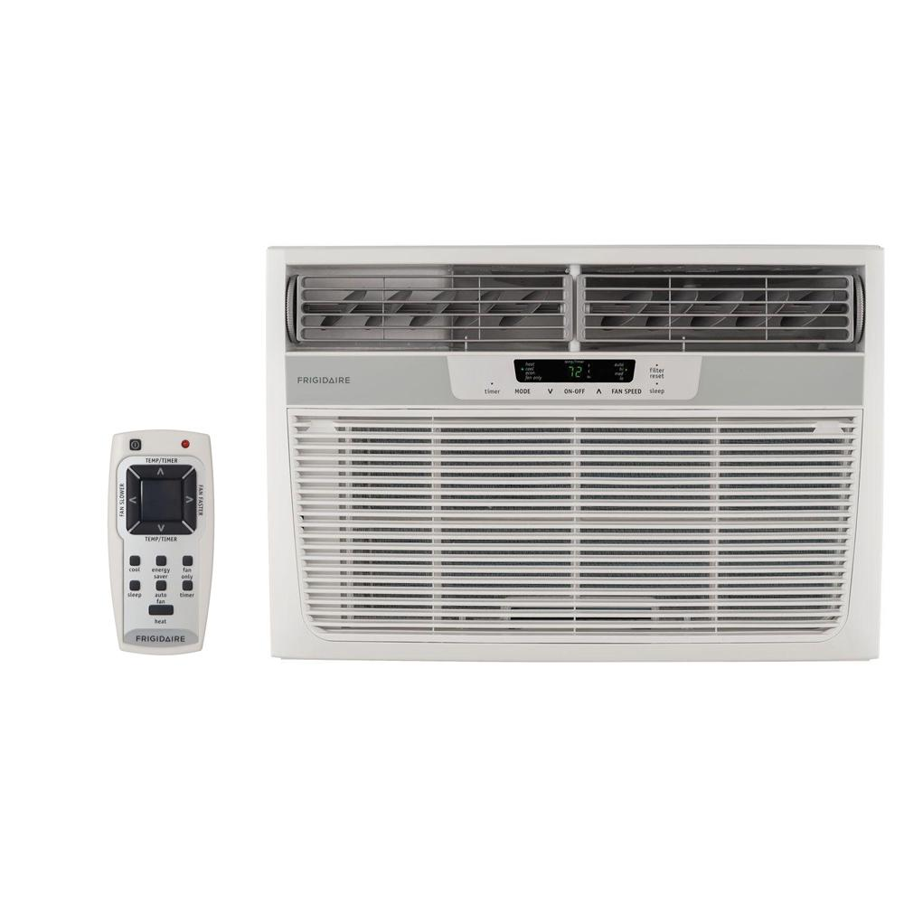 Frigidaire 8,000 BTU 115-Volt Compact Slide-Out Chassis Air Conditioner and Heat  with Remote Control
