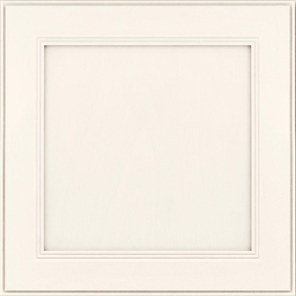 Parkdale 14 5/8 x 14 5/8 in. Cabinet Door Sample in Canvas