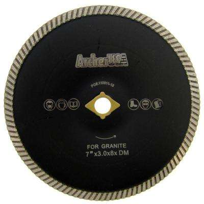 7 in. Turbo Contour Diamond Blade for Curved Cutting