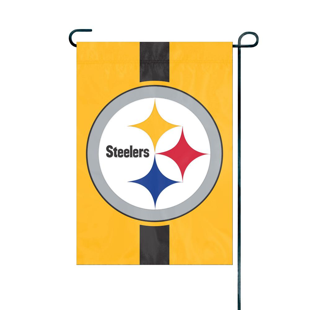 Delicieux Party Animal, Inc. Pittsburgh Steelers Premium Garden Flag
