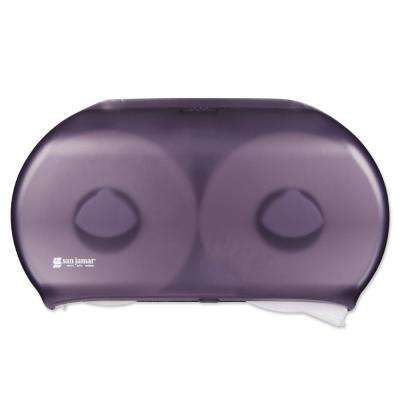 San Jamar 2-Roll Black Pearl Twin Jumbo Toilet Tissue Dispenser