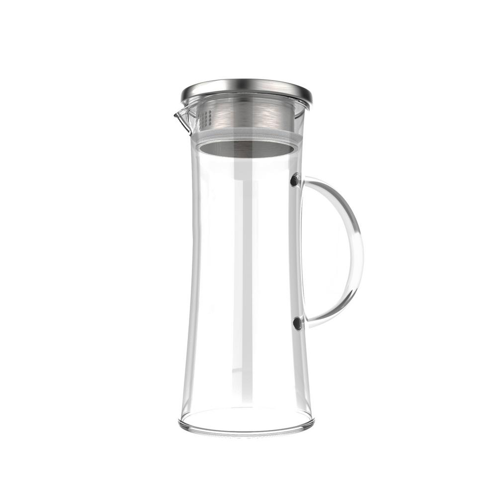 50 oz. Glass Pitcher with Lid