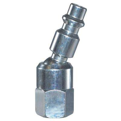 1/4 in. I/M Swivel Plug - 1/4 in. NPT F