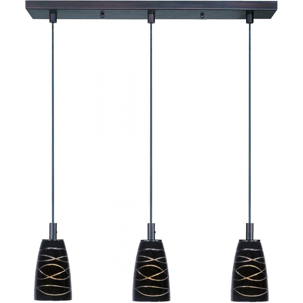 Filament Design Coit 3-Light Bronze Pendant