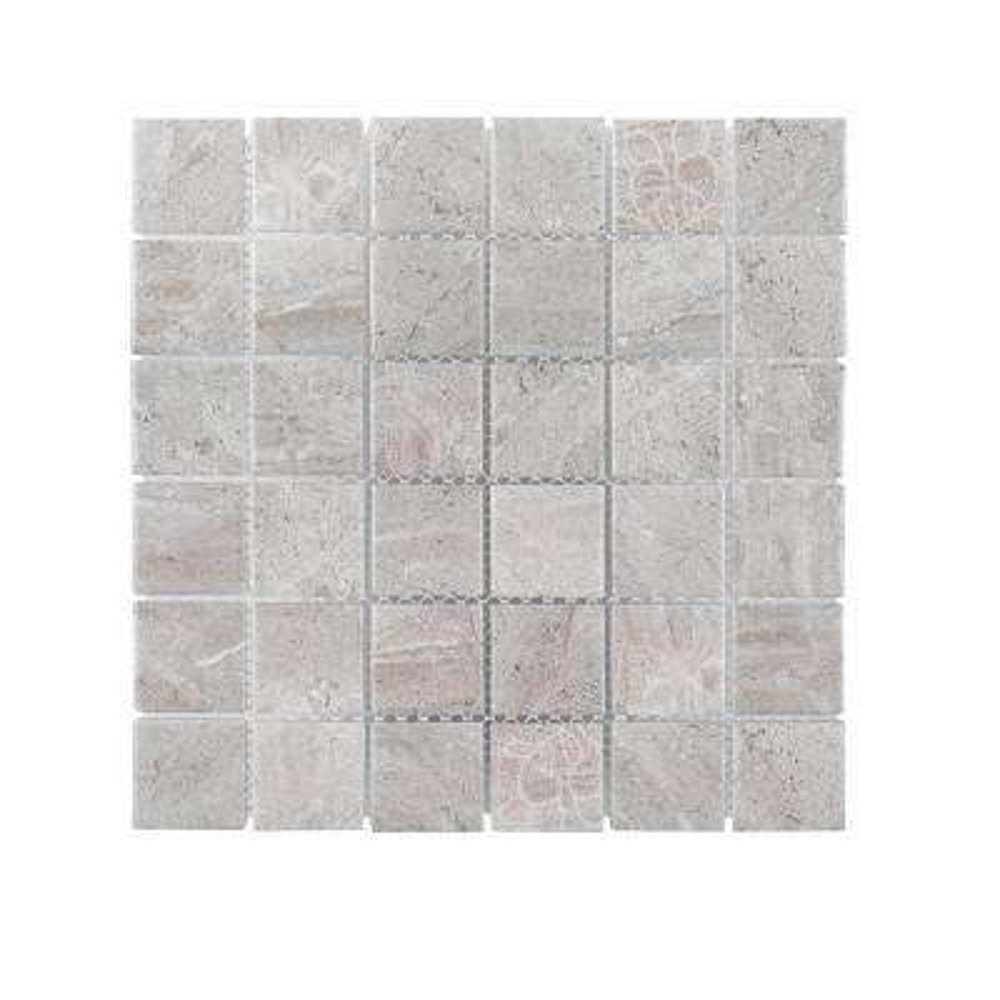 Hidden Treasure 12 in. x 12 in. x 6 mm Porcelain Mosaic Tile (1 sq. ft. / each)