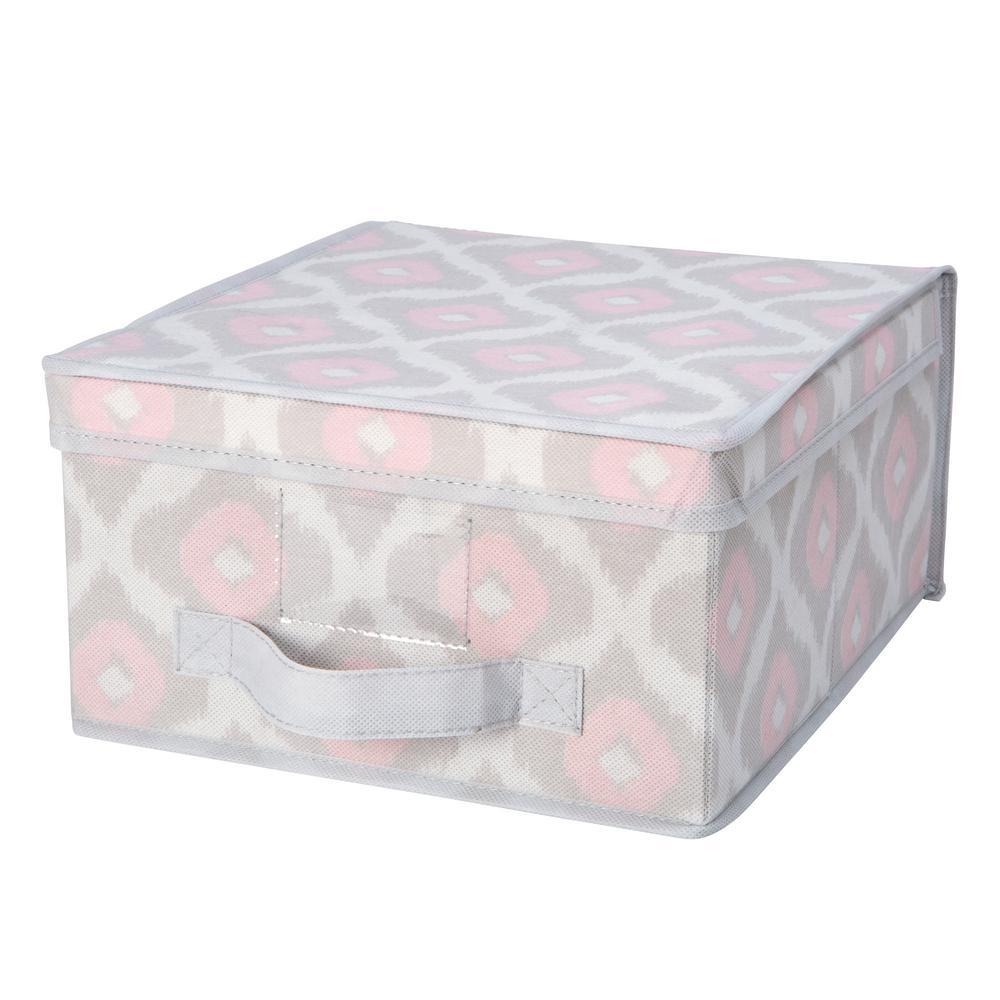 11 in. x 12 in. x 6 in. Medium Storage Box in IKAT