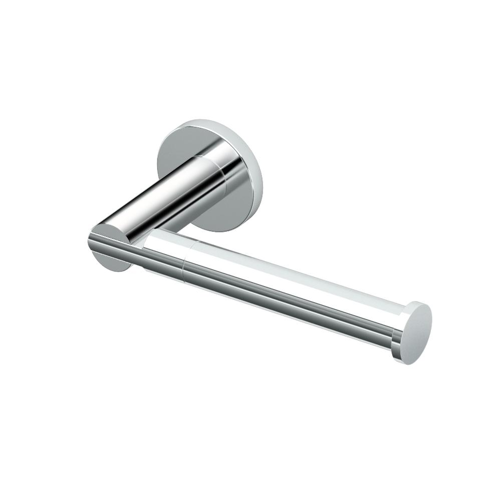 Gatco Channel Euro Single Post Toilet Paper Holder In Chrome