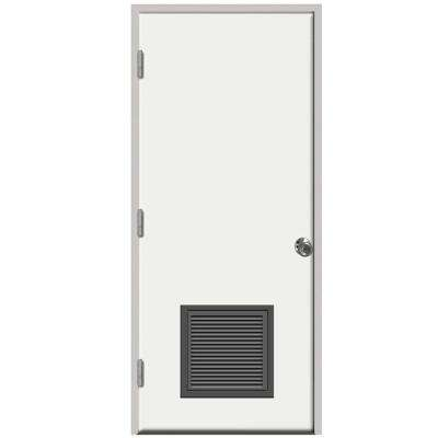 24 x 80 no panel right hand outswing front doors exterior