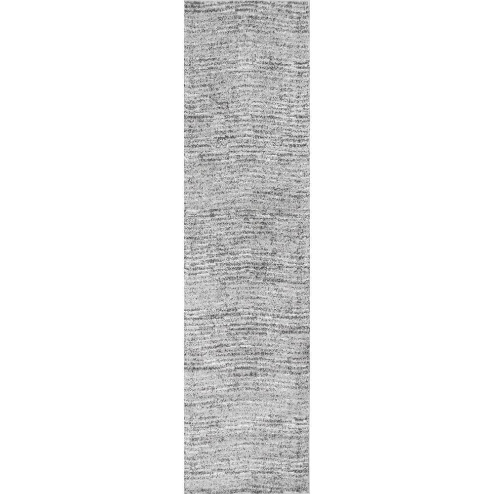 Sherill Grey 3 ft. x 12 ft. Runner Rug