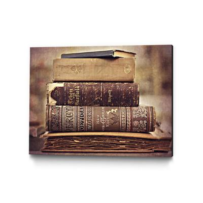 """36 in. x 24 in. """"Vintage Book Collection IV"""" by Sylvia Cook Wall Art"""