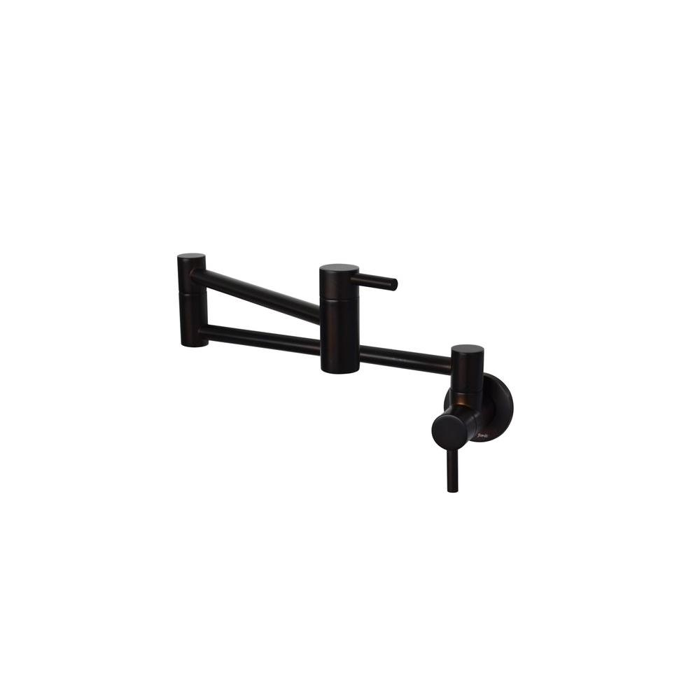Wall-Mounted Potfiller in Oil Rubbed Bronze