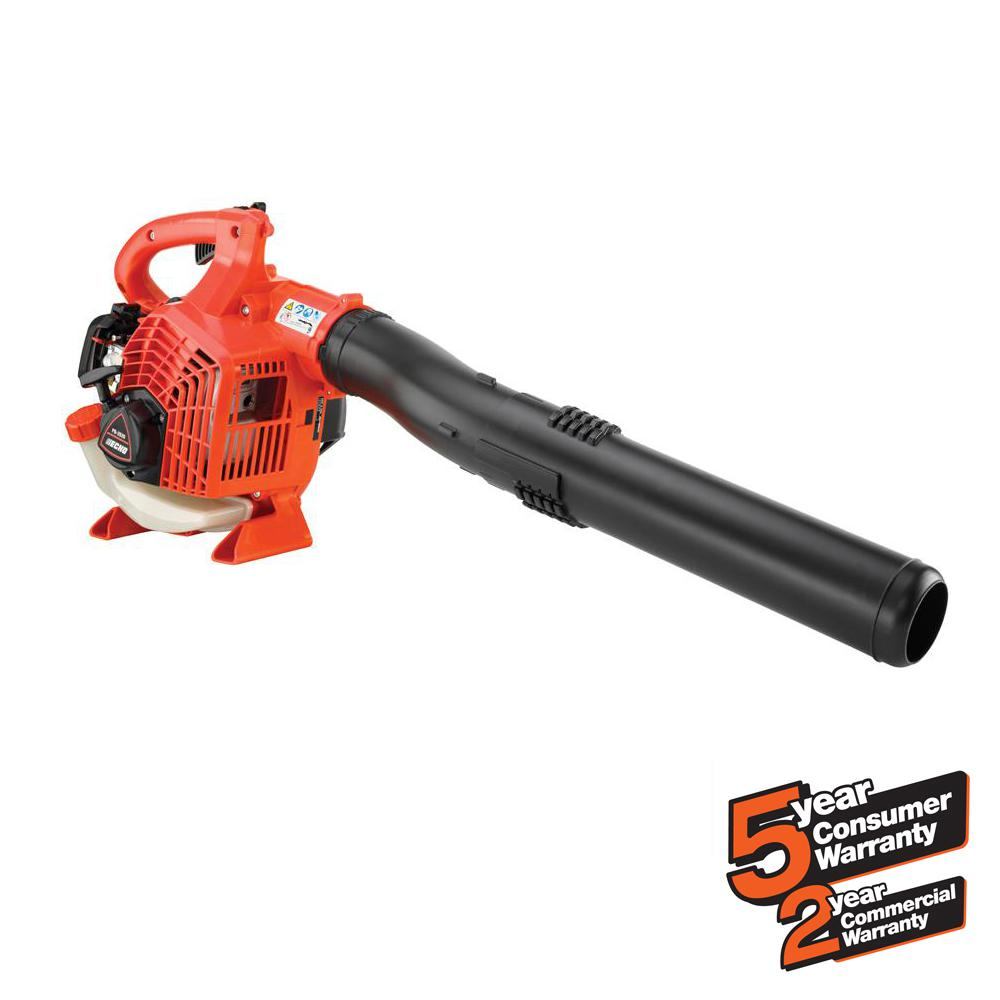 170 MPH 453 CFM 25.4cc Gas 2-Stroke Cycle Handheld Leaf Blower