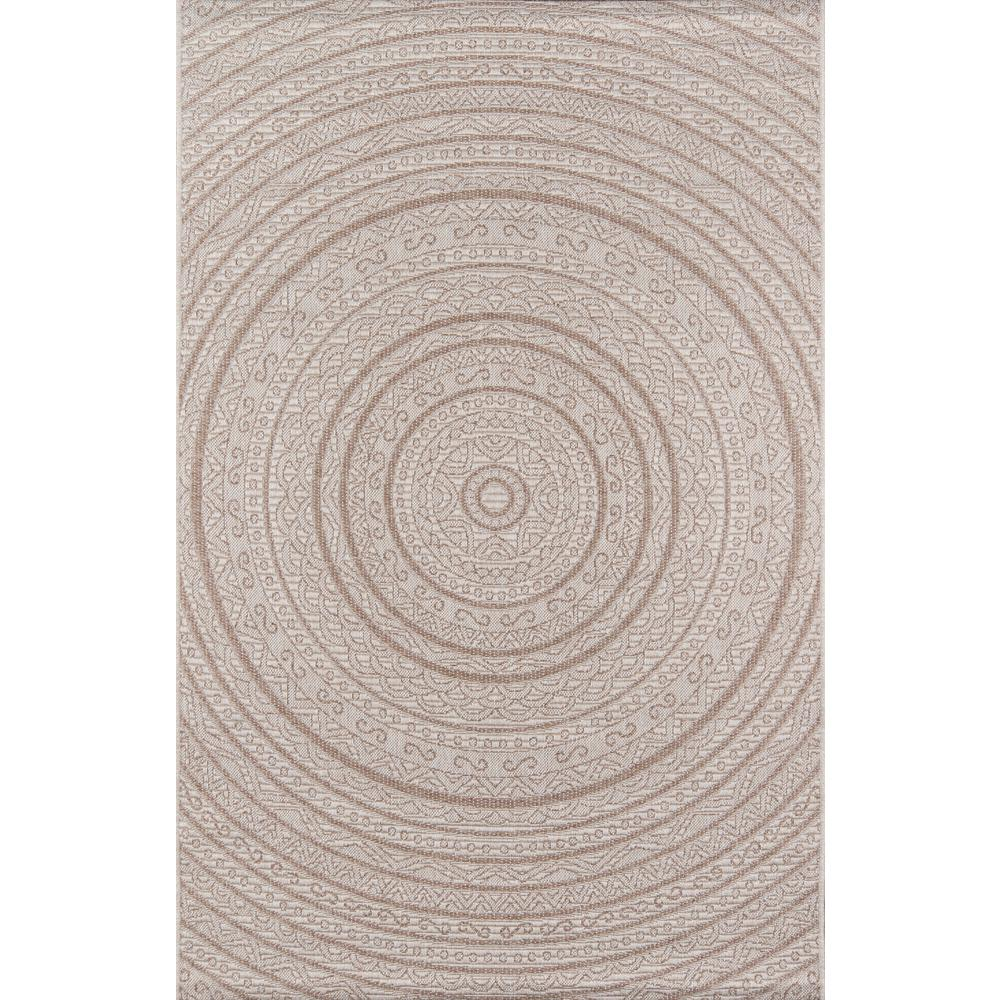 Como Tan 2 ft. X 3 ft. Indoor/Outdoor Area Rug