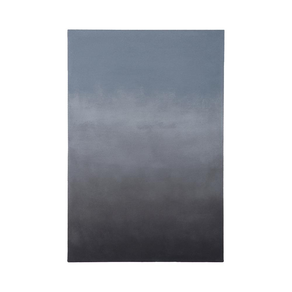 "36 in. x 24 in. ""Dark Skies One"" Hand Painted Canvas"