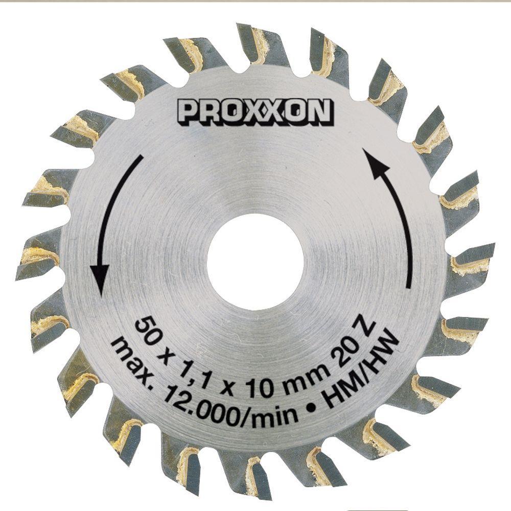 Proxxon 20-Teeth Tungsten Tipped Saw Blade for KS 115 by Proxxon