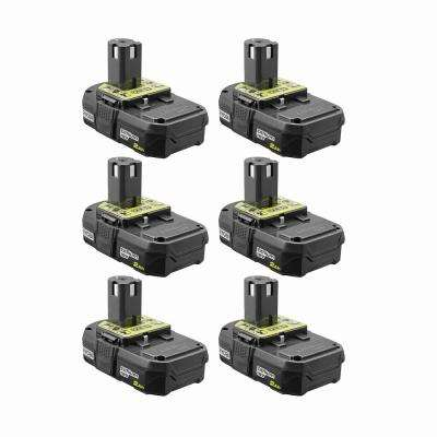 18-Volt ONE+ 2.0 Ah Lithium-Ion Compact Battery (6-Pack)