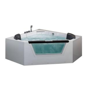 Ariel 5 ft. Whirlpool Tub in White by Ariel
