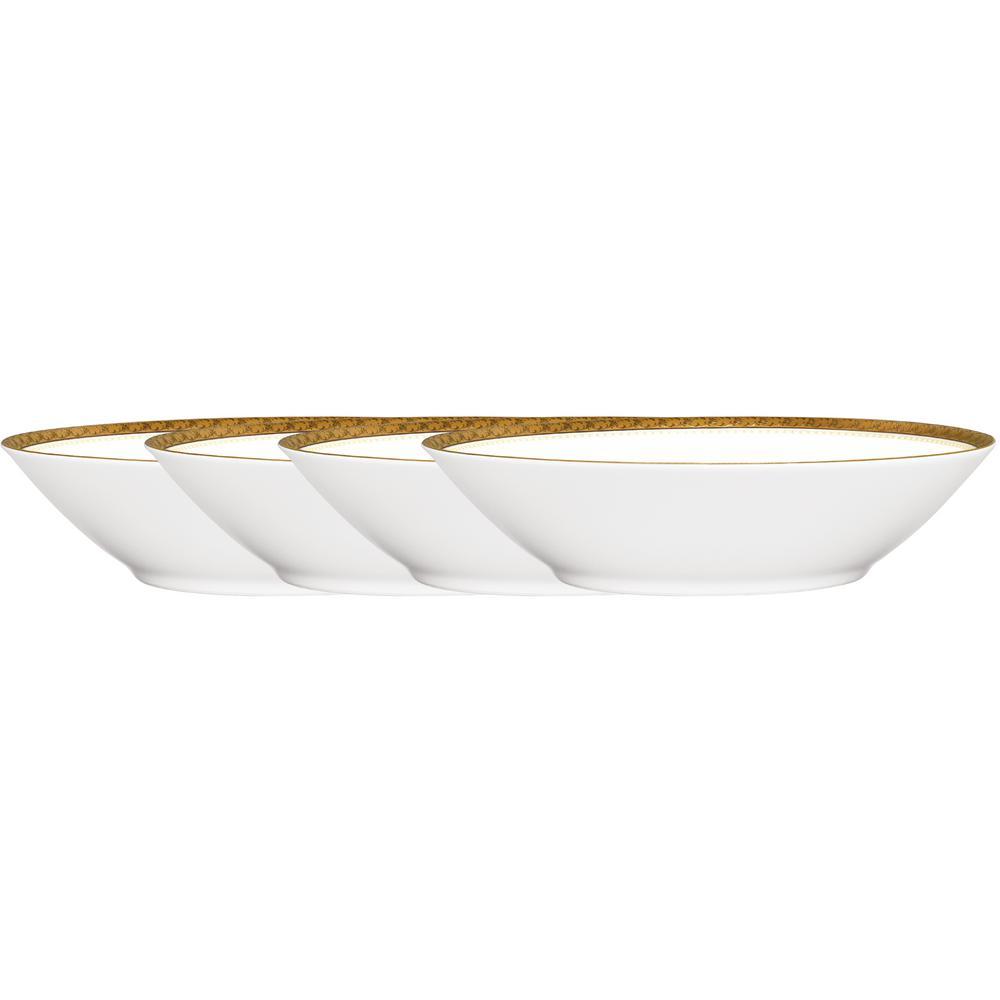 Charlotta 5.5 in. 4 oz. Gold Fruit Bowls (Set of 4)